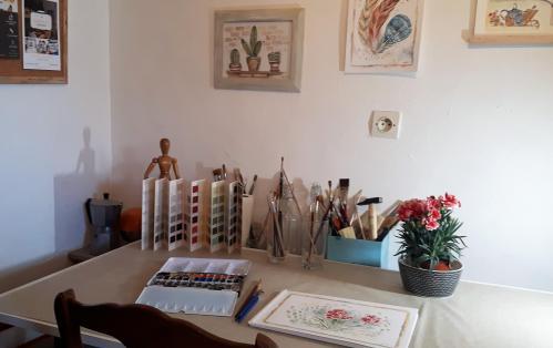 Mon atelier Lydia Martin Soings en Sologne