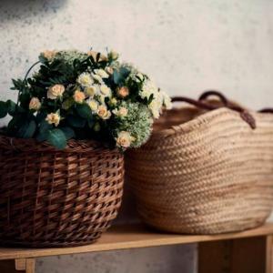 Fleurs et panier Lydia Martin