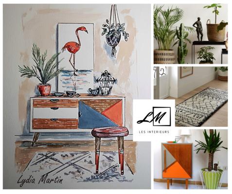 décoration vintage et moderne
