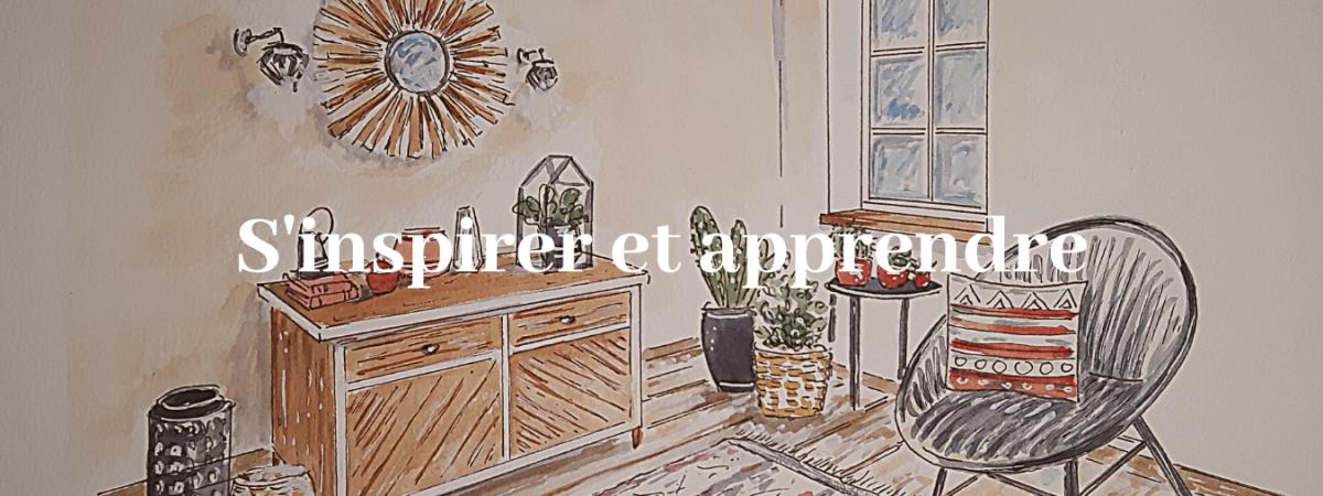 Décoration d'intérieur et cours de dessin dans le Loir et Cher