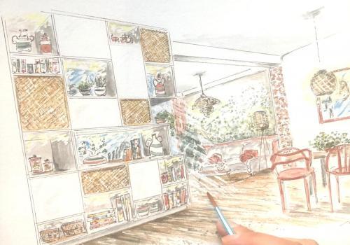 cours dessin décoration d'intérieur loir et cher