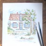 dessin et peinture maison