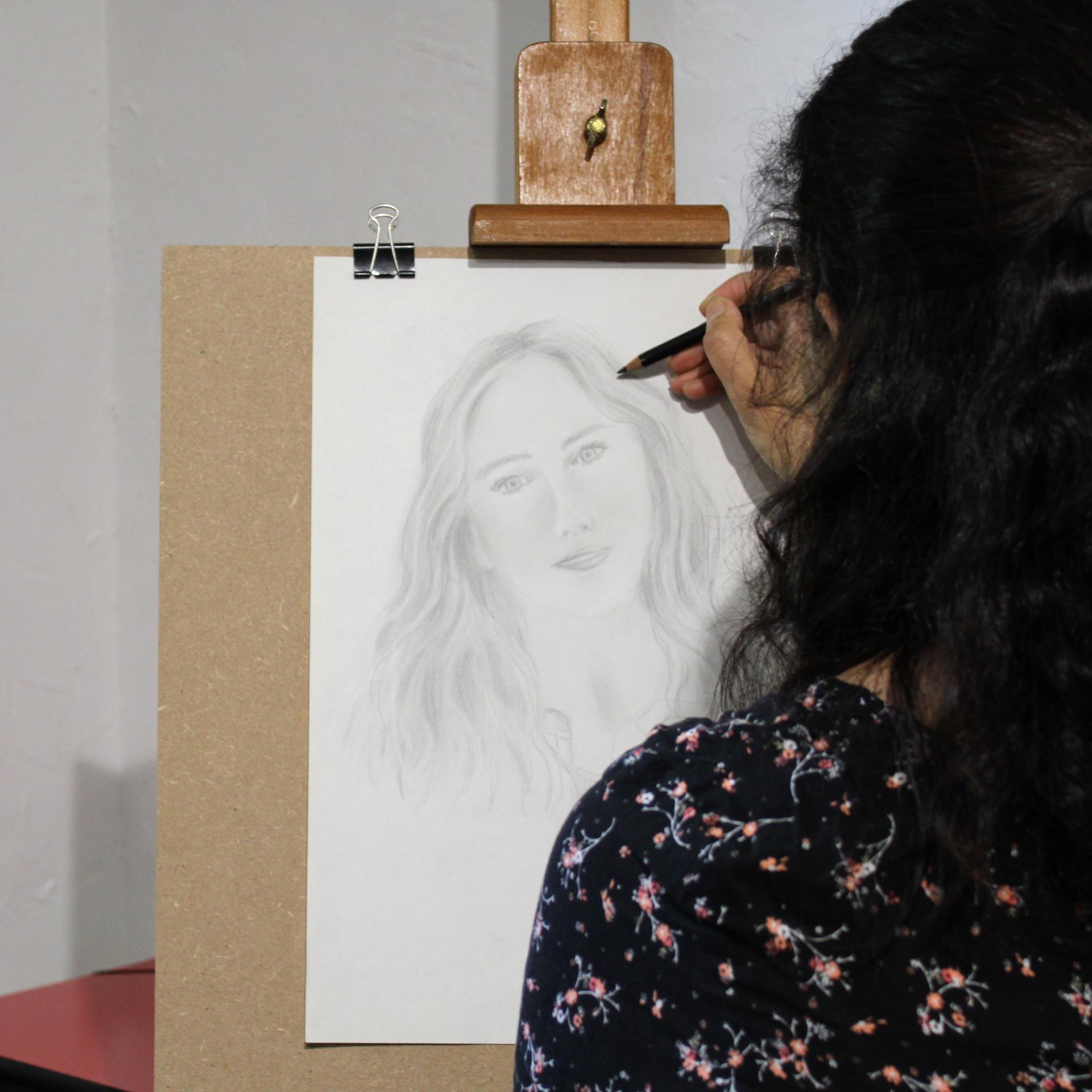 Cours de dessin portrait