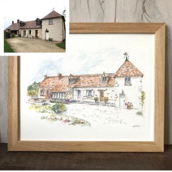 Peinture personnalisee maison