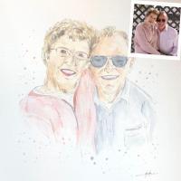 portrait personnalisé couple