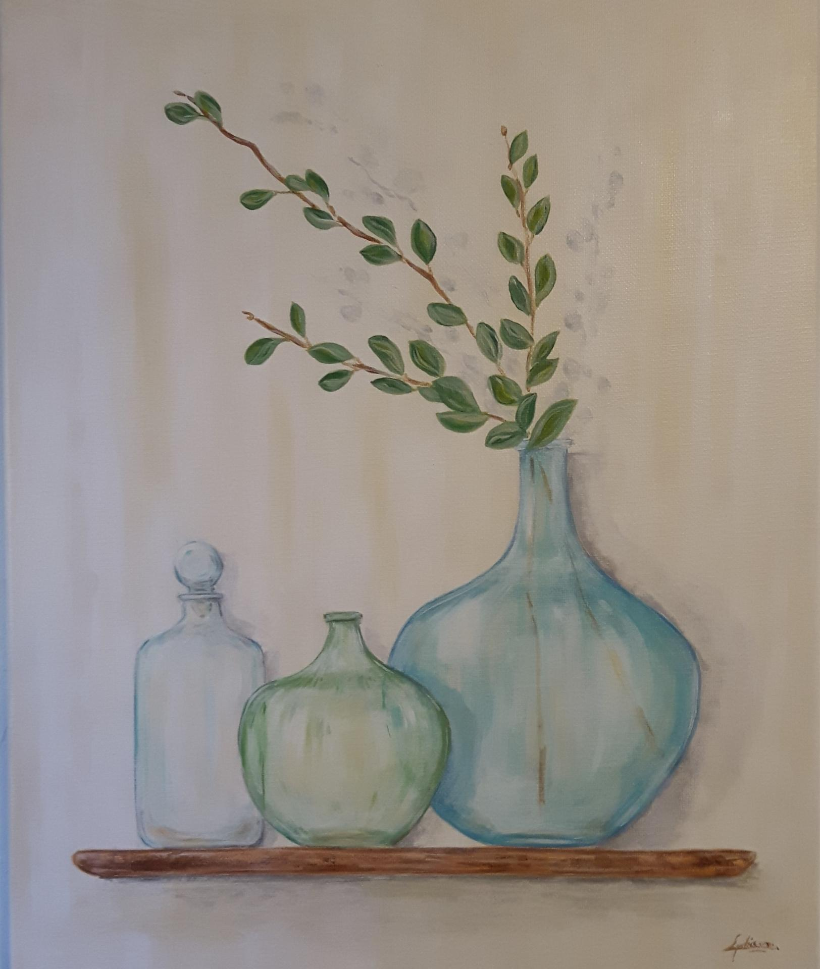 Collection de vases anciens